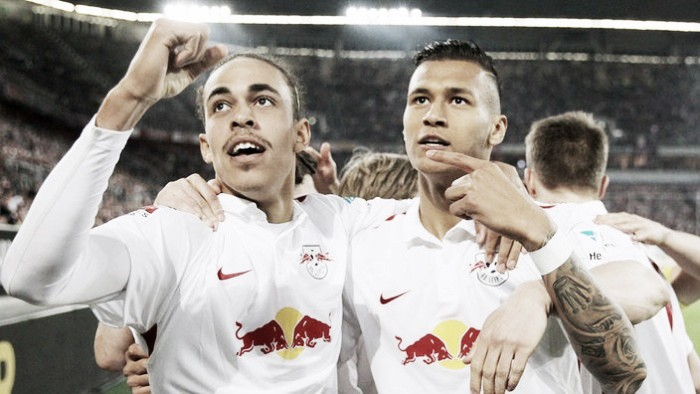 Fortuna Düsseldorf 1-3 RB Leipzig: Poulsen and Selke star in second half show