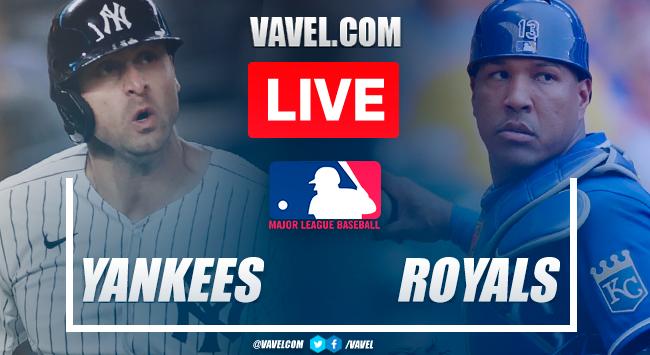 New York Yankees vs Kansas City Royals: Live Stream, Score Updates and How to Watch MLB Game