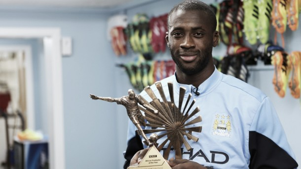 Touré named African Footballer of the Year
