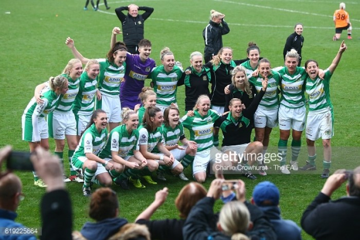 London Bees 0-2 Yeovil Town: Glovers secure promotion