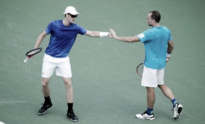 Murray/Soares passam sufoco, mas superam portugueses na estreia do US Open