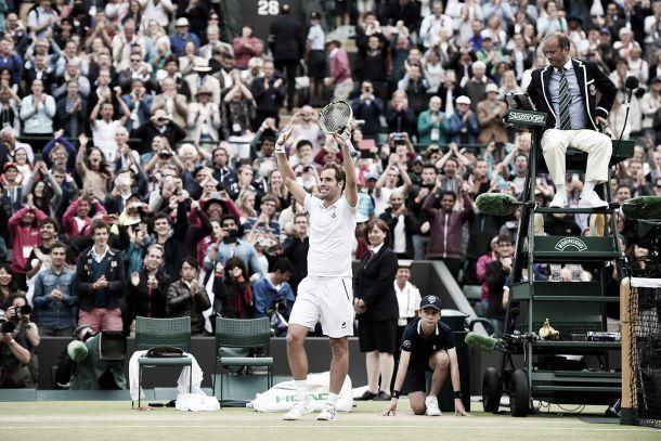 Wimbledon 2015, Gasquet non ha paura