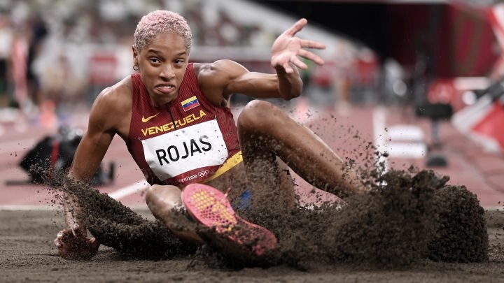 Summary Olympics Track and Field Results: Women's Triple Jump and Men's 100-meters: Yulimar Rojas and Lamont Jacobs were the winners of the night