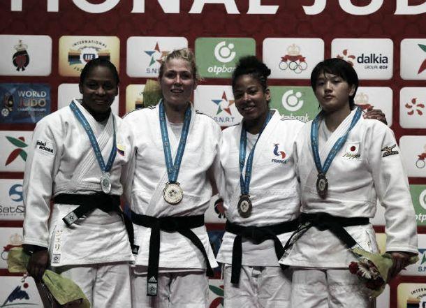 Yuri Alvear, plata en el Mundial de Judo