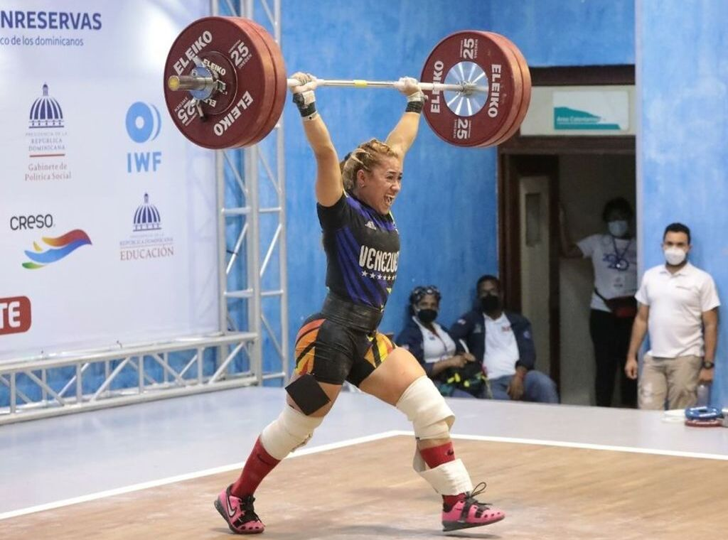 Resumen de Halterofilia 59 kgs femenino en los Juegos Olímpicos Tokio 2020