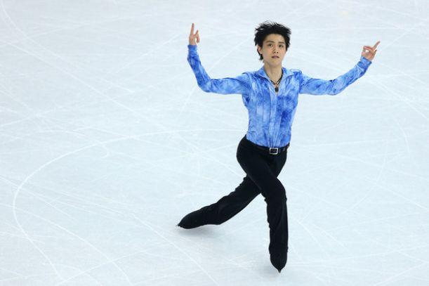 Pattinaggio, Hanyu nella storia, oro e record nel libero maschile