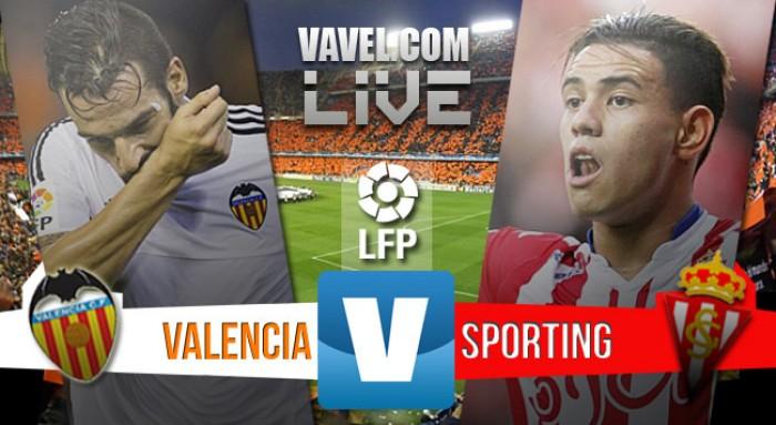 Resultado Valencia x Sporting Gijón no Campeonato Espanhol 2015/16 (0-1)