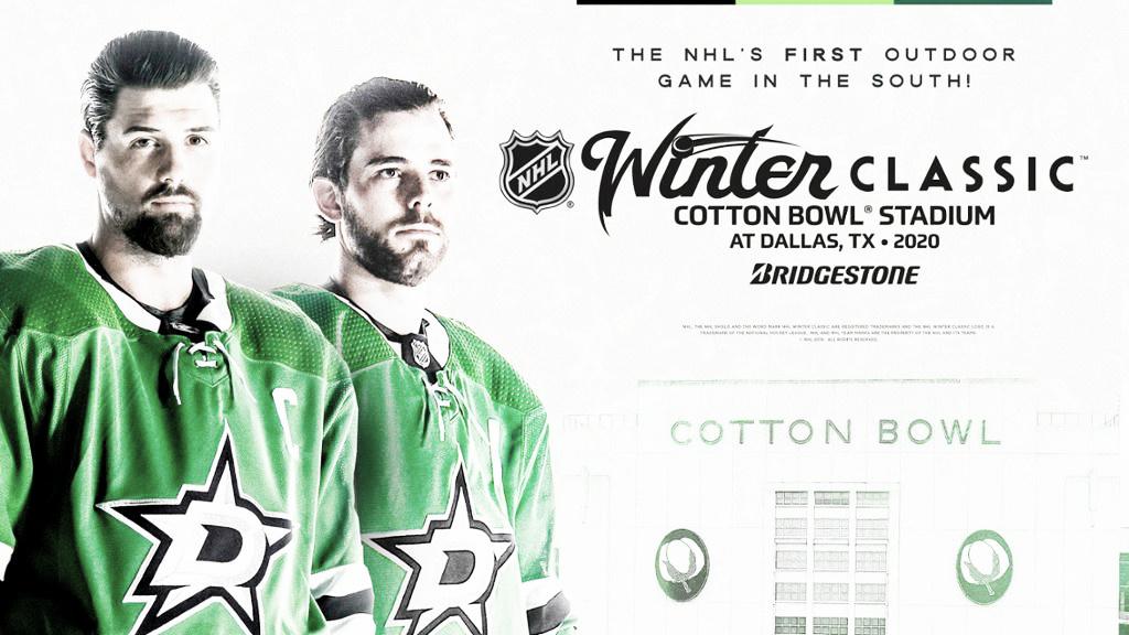 Dallas acogerá el próximo Winter Classic entre otros anuncios destacados para 2019/20