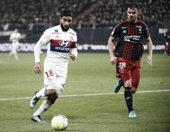 Fekir, la gran amenaza del Lyon