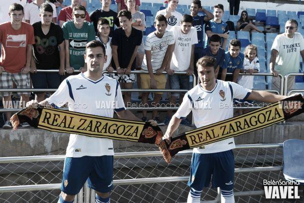 Dorca y Hadzic, muy ilusionados con su llegada al Real Zaragoza