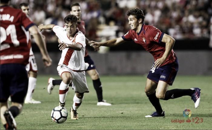 Jornada 25, el Rayo Vallecano visita al Osasuna.