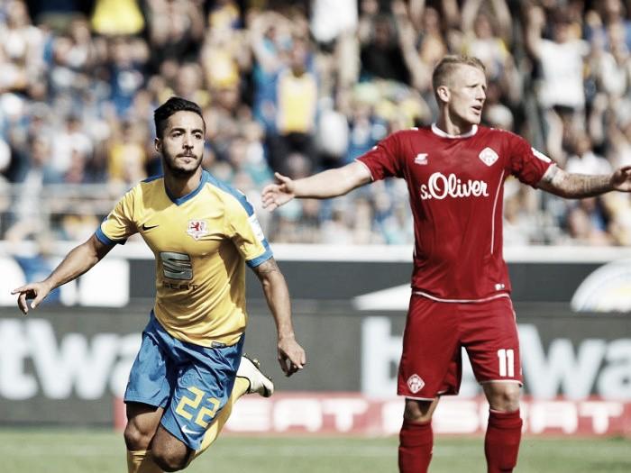 Eintracht Braunschweig 2-1 Würzburger Kickers: Die Löwen conquer newly promoted Kickers
