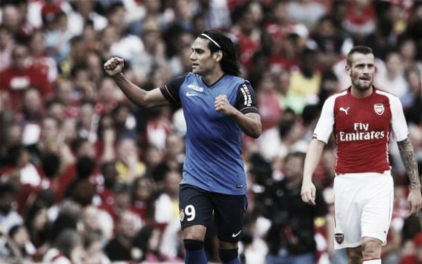 Monaco et Falcao s'imposent contre Arsenal