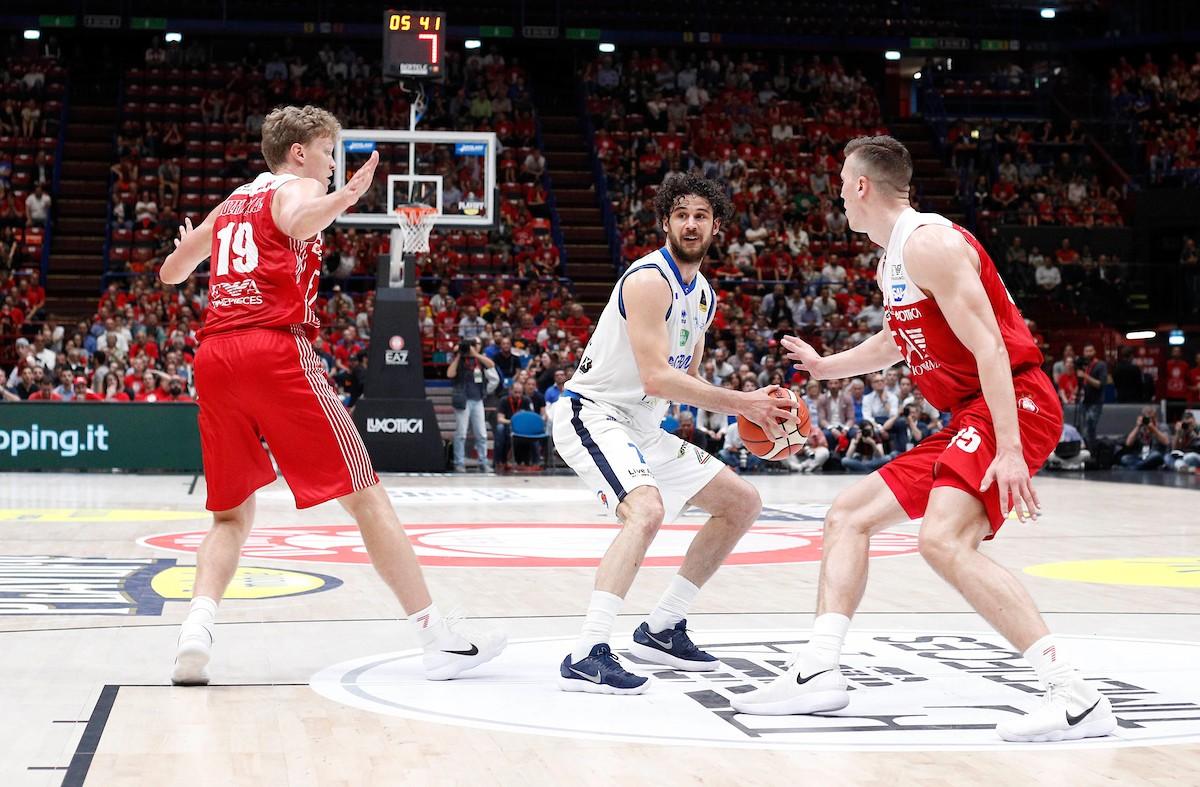 Legabasket Serie A - Brescia fa sua gara 1, 85-82 su Milano