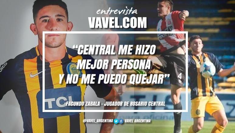 """Entrevista. Facundo Zabala: """"Espero una vez jugar en el Gigante"""""""