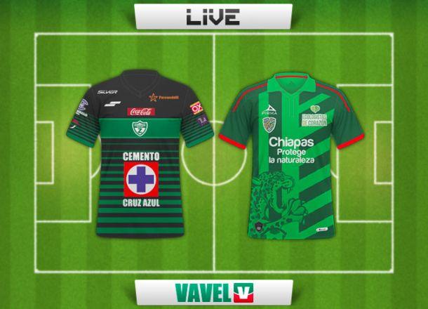 Resultado Zacatepec - Chiapas FC en Copa MX 2015 (2-3)