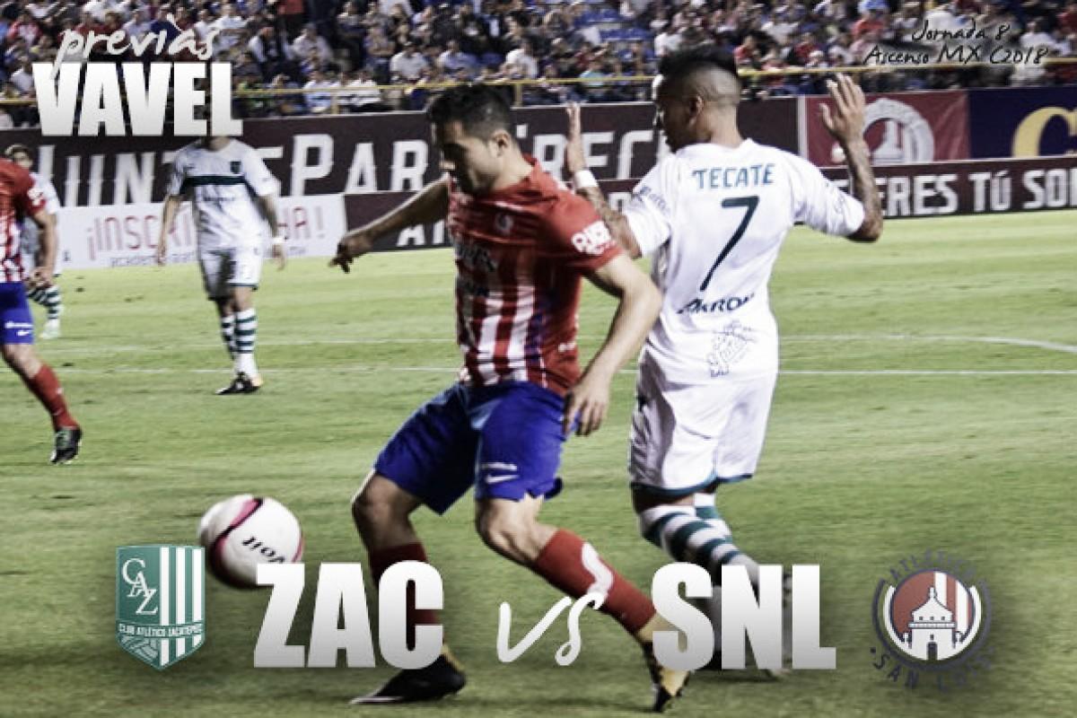 Previa Zacatepec - Atlético de San Luis: el debut de Alfonso Sosa