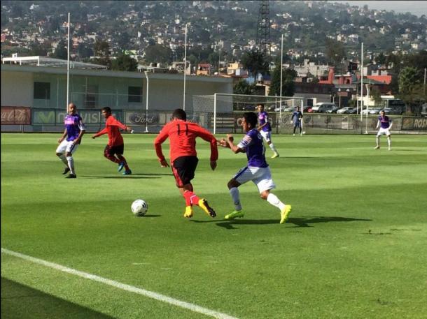 Zacatepec cae frente al 'Tri' Sub-21