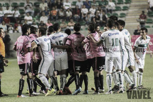Fotos e imágenes del Zacatepec 2-3 Chiapas correspondiente a la fecha 4 de la Copa MX