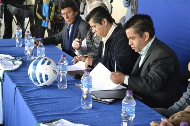 Zacatepec firma convenio de fuerzas básicas