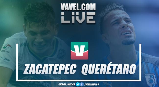 Resumen y goles Zacatepec 0-4 Querétaro en Copa MX 2019