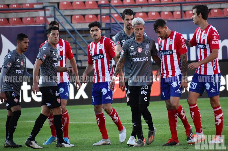 Puntuaciones de Necaxa en la jornada 18 de la Liga MX AP19