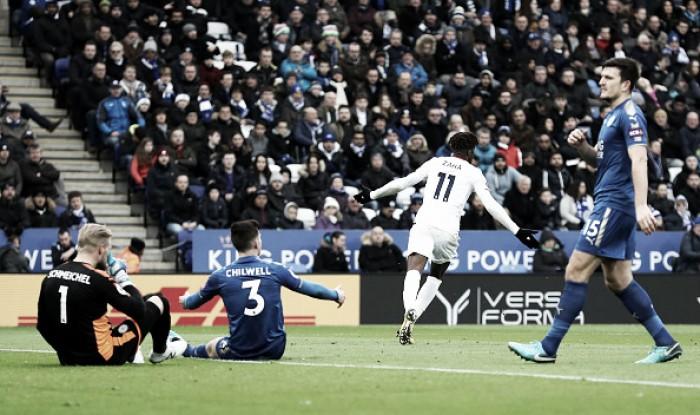 Palace bate Leicester com autoridade e mantém ascensão na Premier League
