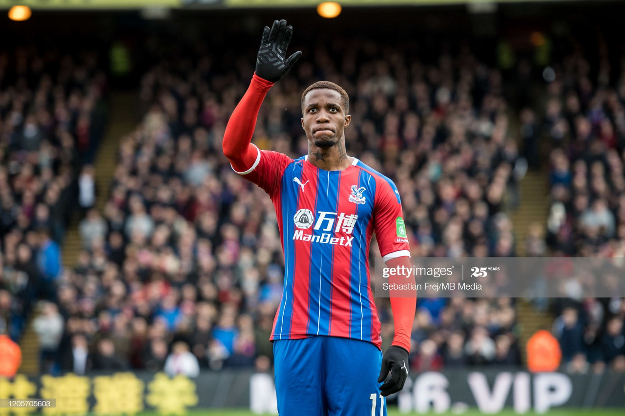 What does the future hold for Wilfried Zaha?