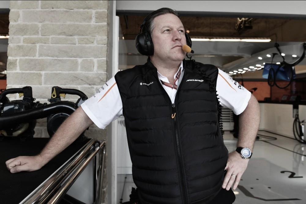 Zak Brown acredita que quatro equipes da F1 podem sair da categoria