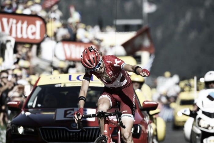 Tour de France, Zakarin vince in salita in Svizzera. Froome segue Porte, male Quintana