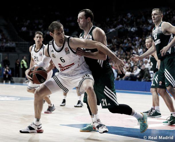 Más que sufrida victoria del Madrid en Kaunas