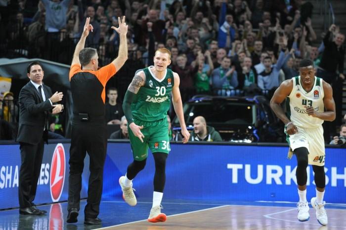 Turkish Airlines EuroLeague - Zalgiris di rimonta sul Panathinaikos, CSKA corsaro a Bamberg