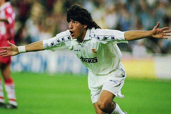 Yo jugué en el Real Madrid: Zamorano, un matador que dejó rastro