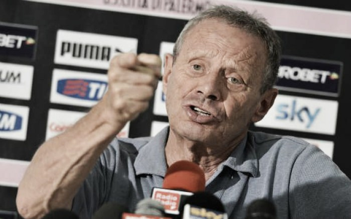 "Zamparini worried about relegation, loss against Lazio would mean it's ""around the corner"""