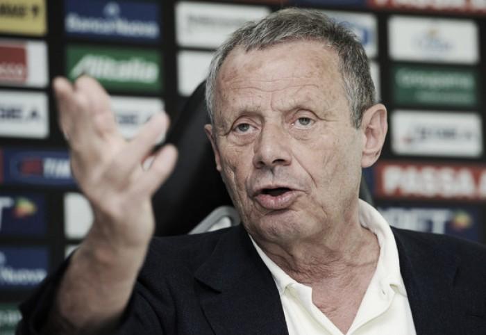"""Palermo, Zamparini: """"Invece di andare avanti la squadra va un po' indietro"""""""