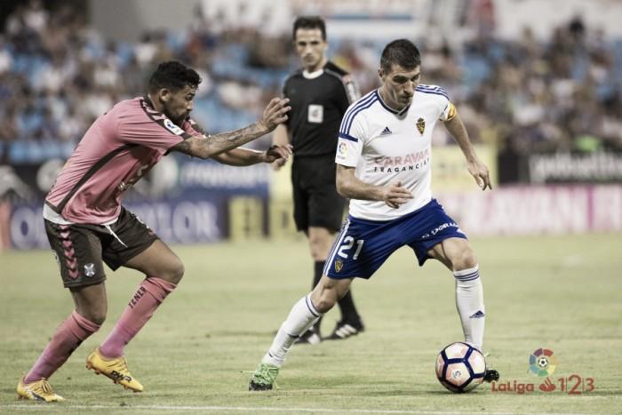 Zapater, el mejor frente al CD Tenerife según la afición