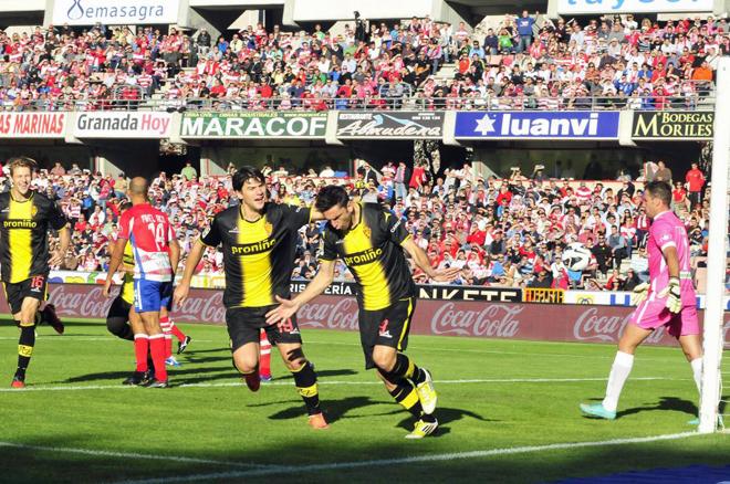El Granada destierra a su fútbol
