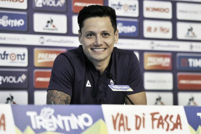 """Fiorentina, Zarate: """"Voglio restare alla Fiorentina, se non fossi maturo adesso..."""""""