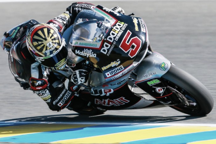 Zarco feels right at home in Le Mans