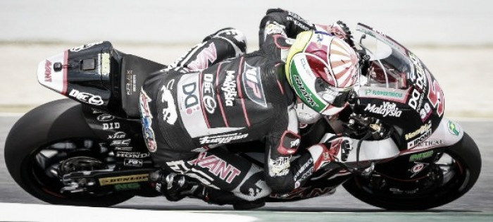 Zarco in pole position after difficult day for Moto2 class