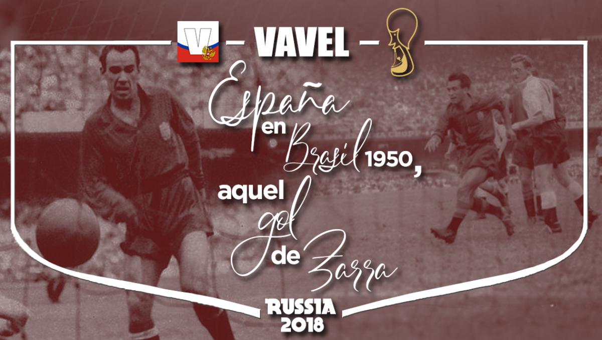 España en Brasil 1950: aquel gol de Zarra