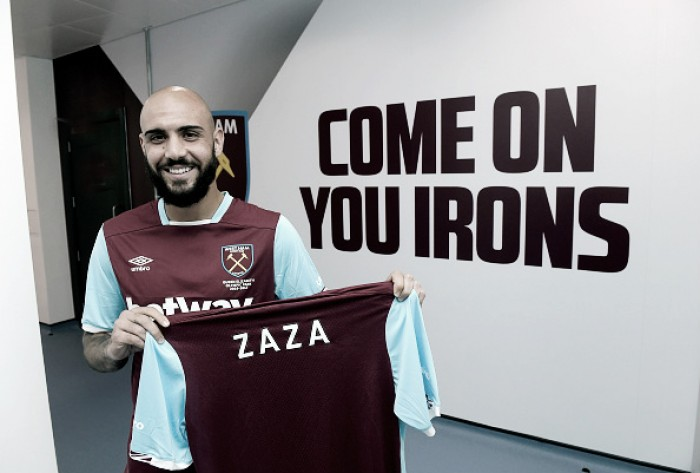 West Ham United sign Simone Zaza