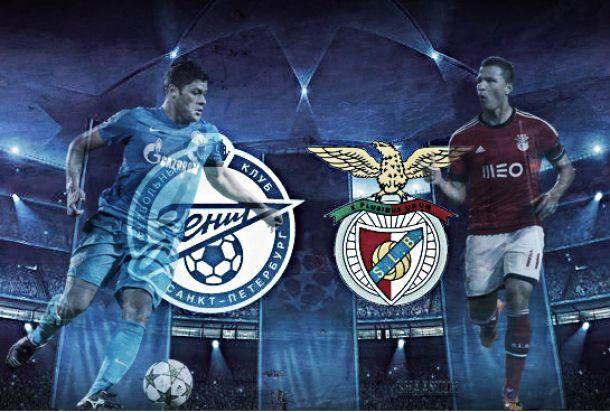 Zenit x Benfica: Vontade suplanta o frio