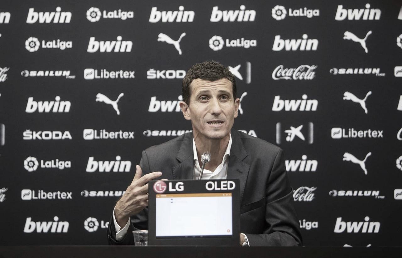 """Presentación Oficial de Javi Gracia: """"Para mi el Valencia es mi equipo y lo voy a defender por encima de todo"""""""