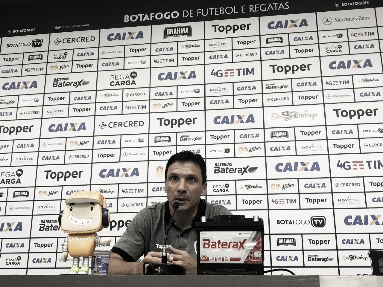 Zé Ricardo destaca competitividade do Botafogo após empate com São Paulo