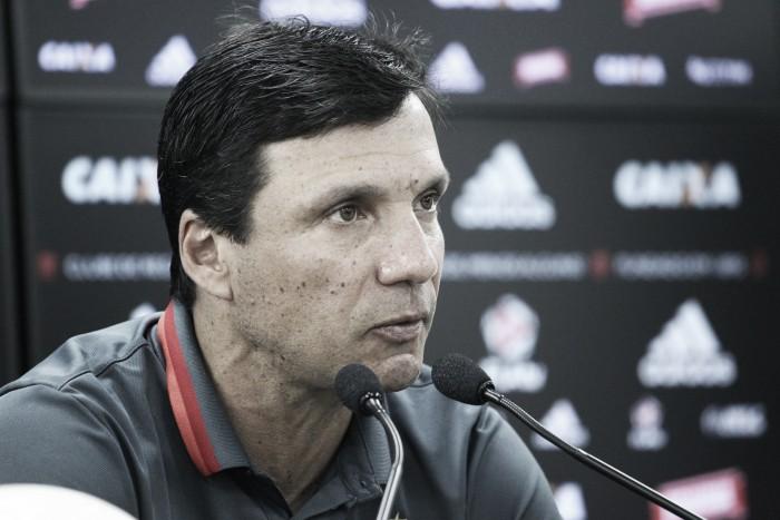 """Após classificação, Zé Ricardo faz desabafo e exalta Fernandinho: """"É um cara que trabalha muito"""""""
