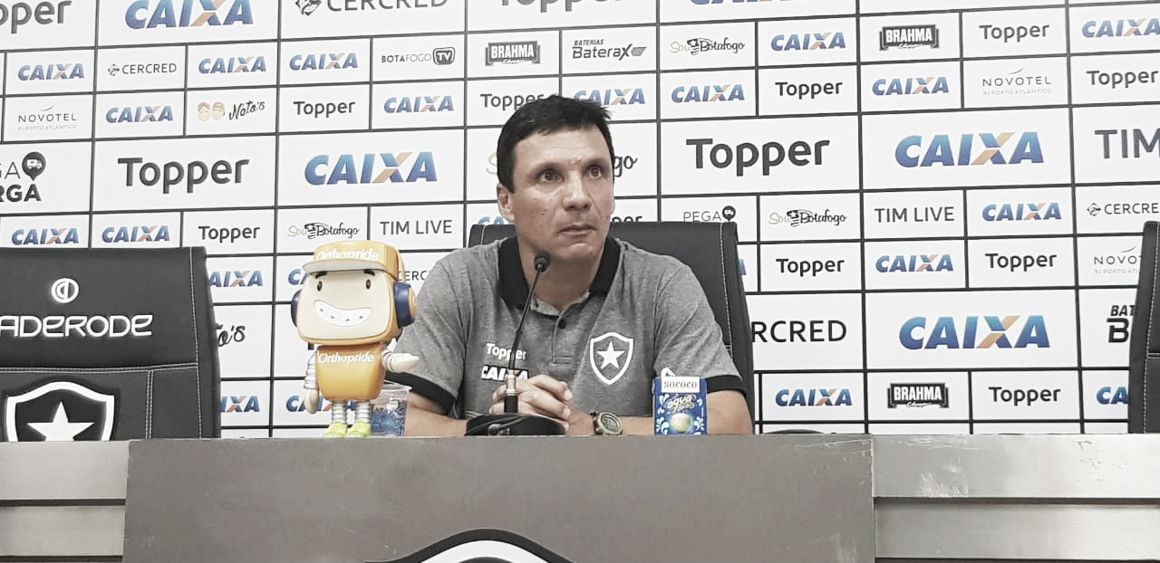Zé Ricardo cita sentimento amargo com empate, mas vê Botafogo superior no clássico contra o Vasco