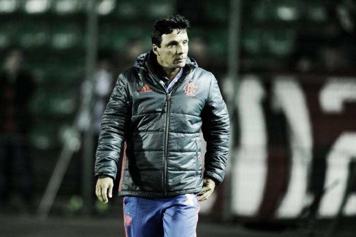 """Zé Ricardo lamenta derrota para Figueirense: """"Responsabilidade é minha"""""""