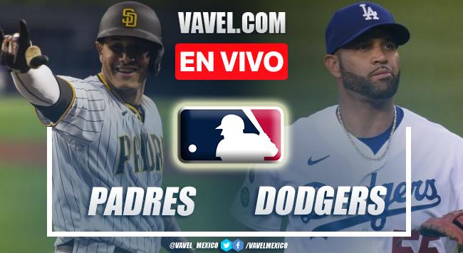 Resumen del San Diego Padres 9-11 Los Ángeles Dodgers en MLB 2021