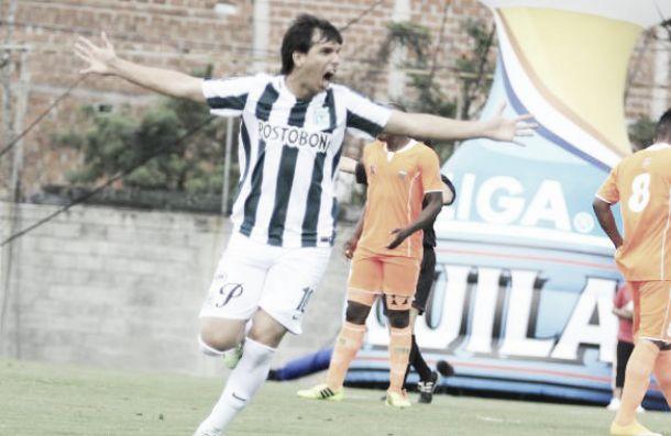 Zeballos se destapó con dos goles y puso a ganar a Nacional